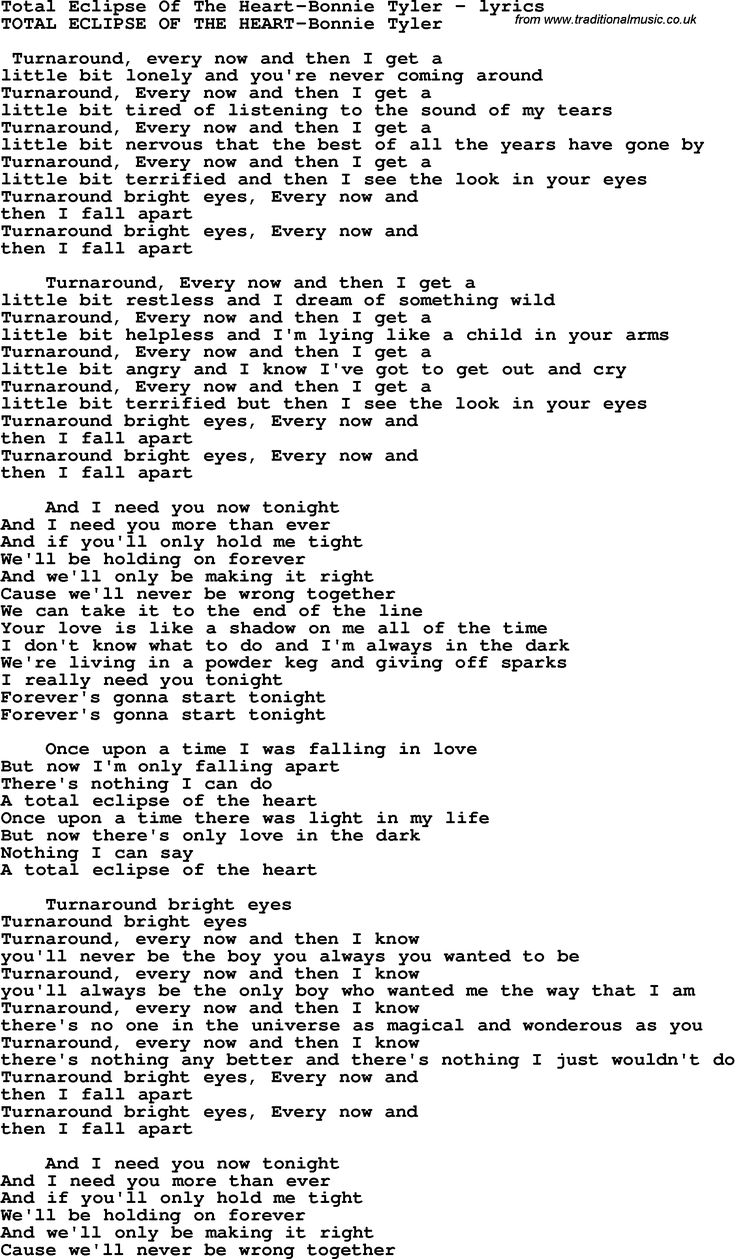 244 best guitar chords images on pinterest guitars music and lyrics total eclipse of the heart lyrics sk p google hexwebz Gallery