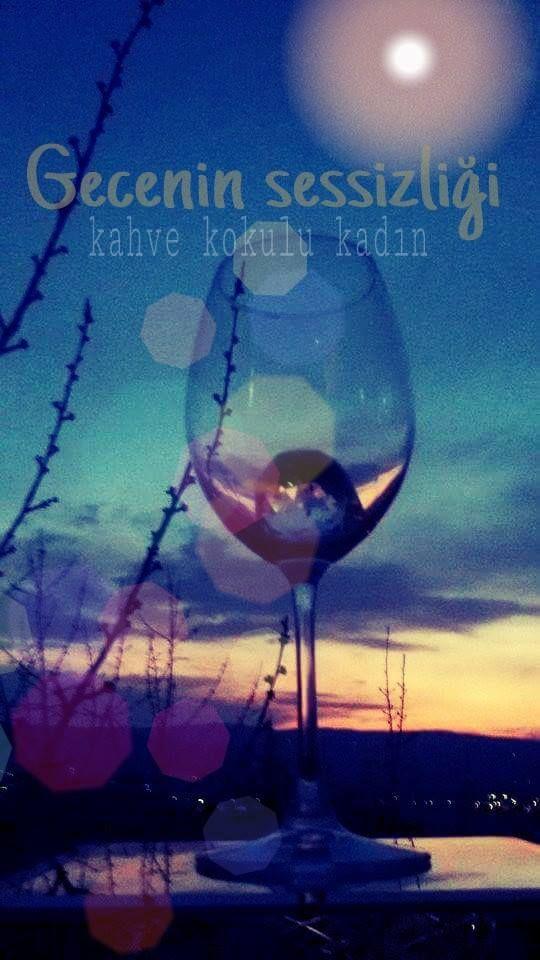 Her gecenin ayrı bi sessizliği , Ayrı bi güzelliği, Ayrı bi hüznü olurmuş.  Sizin geceniz güzel olsun.  Mina Z.