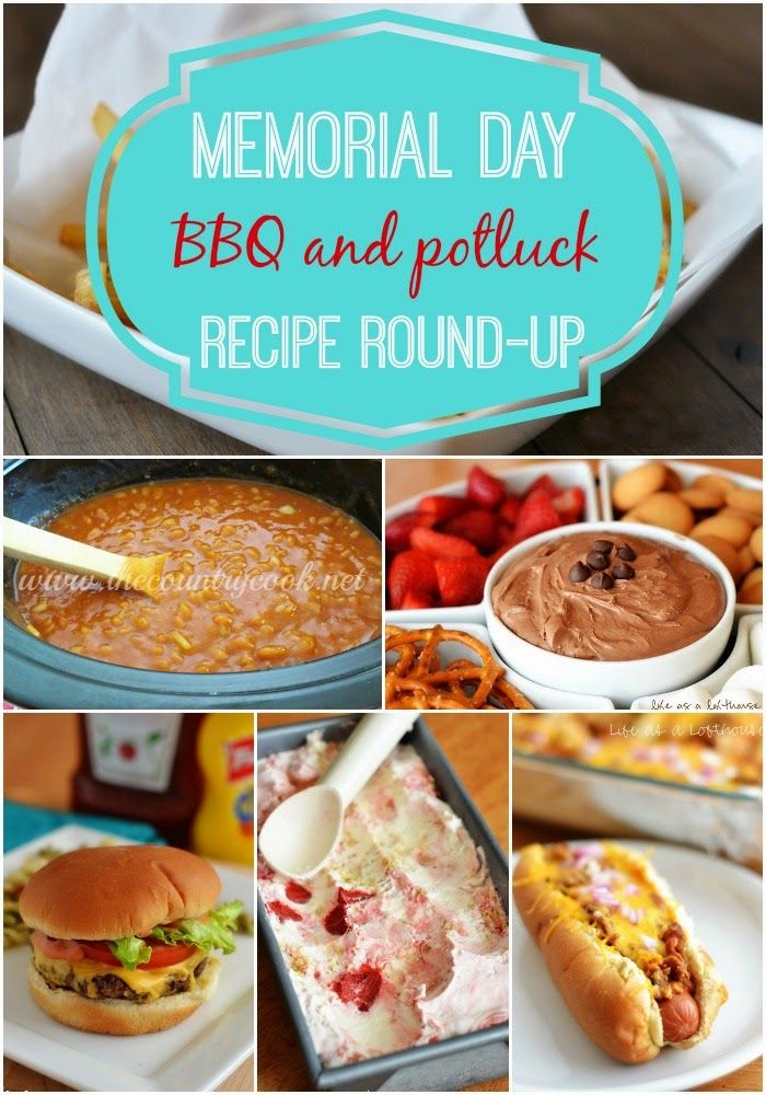 memorial day recipe round up the country cook yummies pinterest