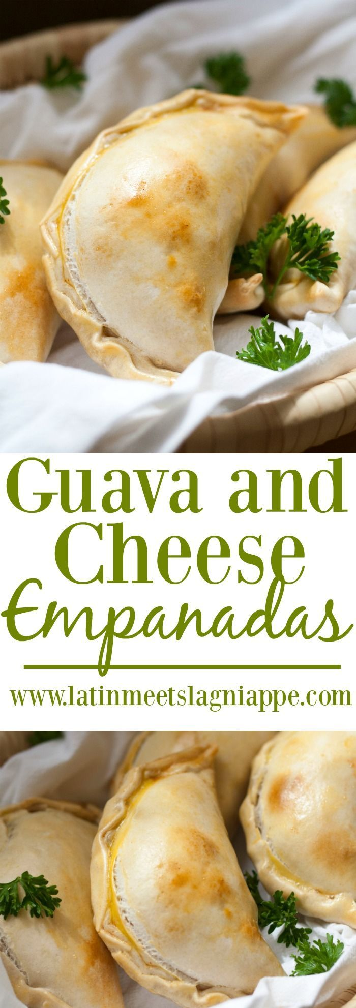 These Guava and Cheese Empanadas are such a tasty snack!                                                                                                                                                     More