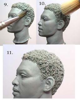 Sculpting Tutorials: Sculpting Afro-textured Hair by Mark Newman