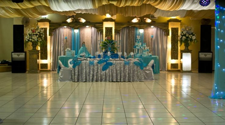 Photos Of Texas Quinceanera Decorations Hall