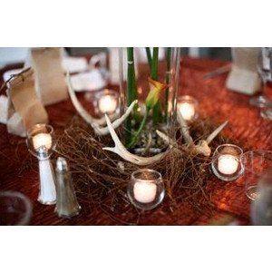 Camo Wedding Centerpieces | Camouflage Wedding, July 2012. | Weddings, Style and Decor | Wedding ...