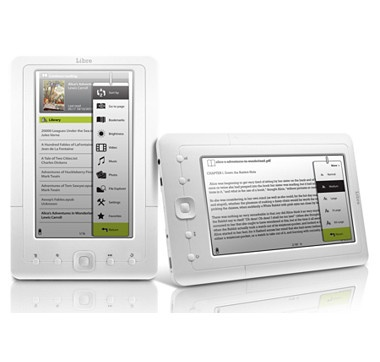 Read ebooks, view videos and pictures in full colour!