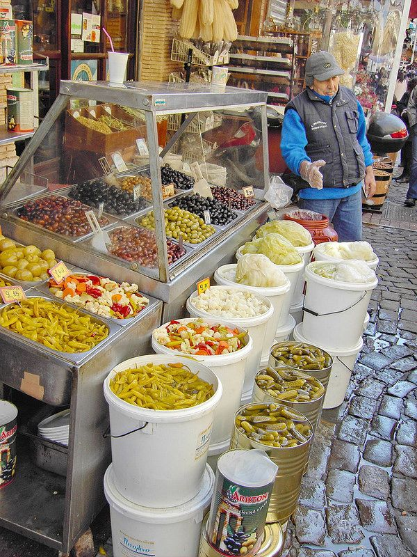 Modiano  Market, Thessaloniki, Greece