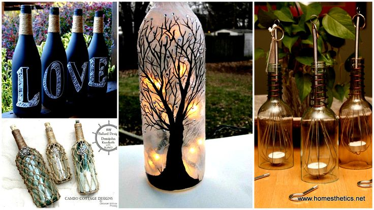 20 Wine Bottle Projects