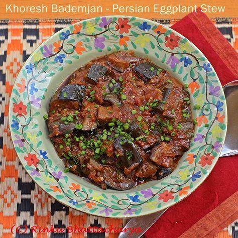 Khoresh Bademjan - Persian Eggplant Stew