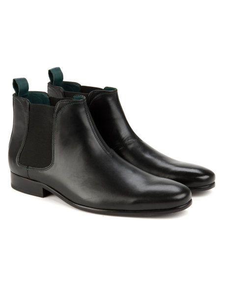 Classic chelsea boot - Black | Footwear | Ted Baker ROW