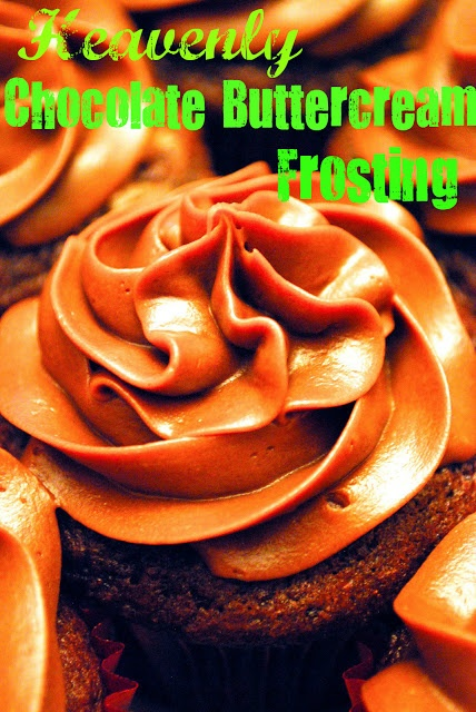 Heavenly Milk Chocolate Buttercream Frosting:  THE frosting you have always wanted in your arsenal!