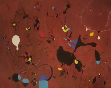 "Saatchi Art Artist Alexandru Ilea; Painting, ""The Seekers - Tribute to Miro"" #art"