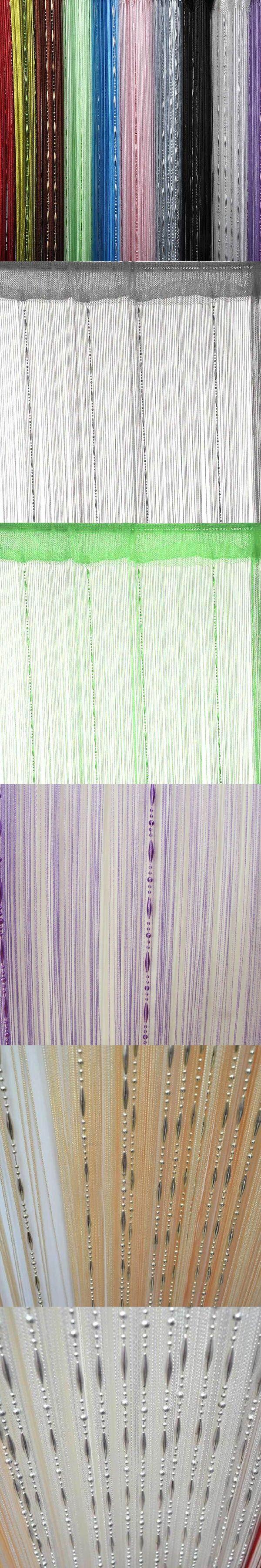 String curtain ideas - Curtain Fashion Chain Beads Fringe String Curtain Panel Window Room Divider Home Decor
