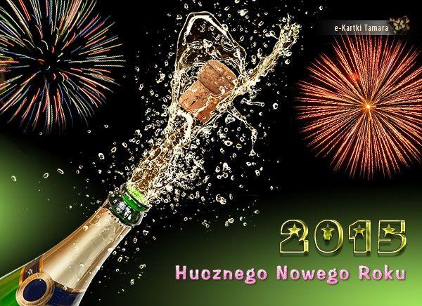eKartka Nowy Rok, Huczny Nowy Rok 2015 - e-Kartki Tamara
