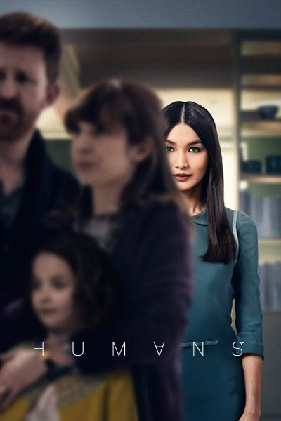 Remake of a Swedish series... And well done.. We love it! Humans (AMC) 2015