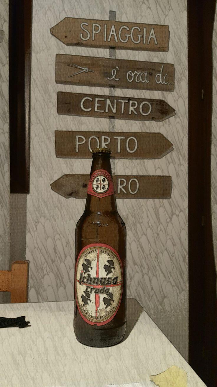 Ichnusa cruda : the most famous Beer in Sardinia