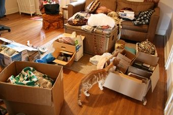 decluttering your home is the first step to good staging