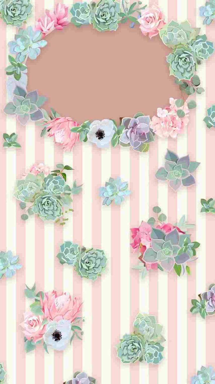 Aesthetic Iphone Pastel Floral Wallpaper Hd in 2020 Pink