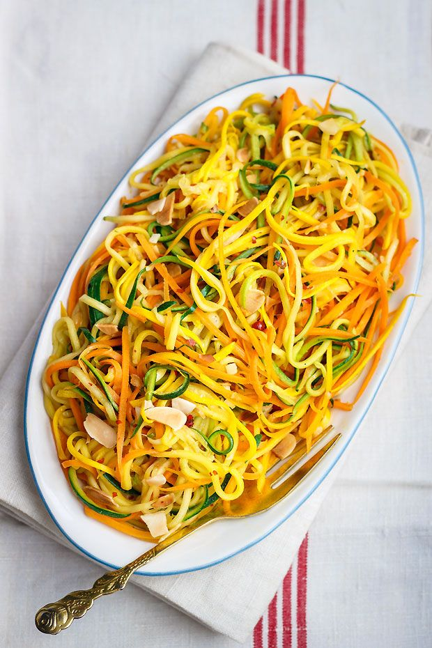 Squash Recipe | eatwell101.com  This easy recipe combines zucchini, yellow summer squash and carrot for a colorful side dish, perfect with grilled meat of chicken.  Full recipe