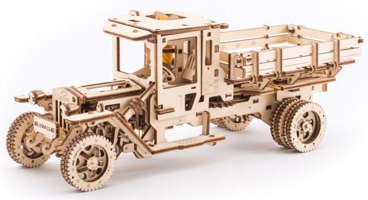 Ugears 3D mechanické puzzle Truck UGM-11