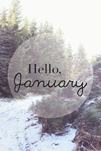 Hello, January - Morgane LB