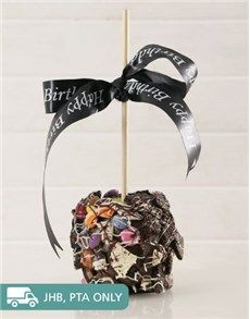 Cakes and Cupcakes - Candy Apples: Chocolate Candy and Cookie Crunch Candy Apple!