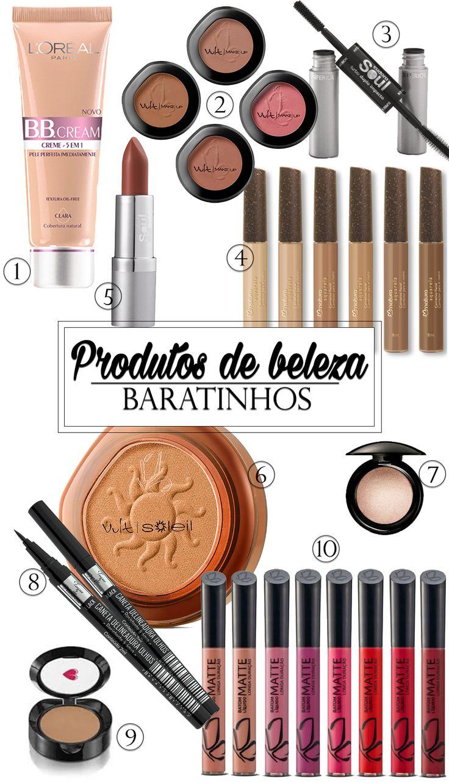 produtos de beleza nacionais baratinhos blog da mariah