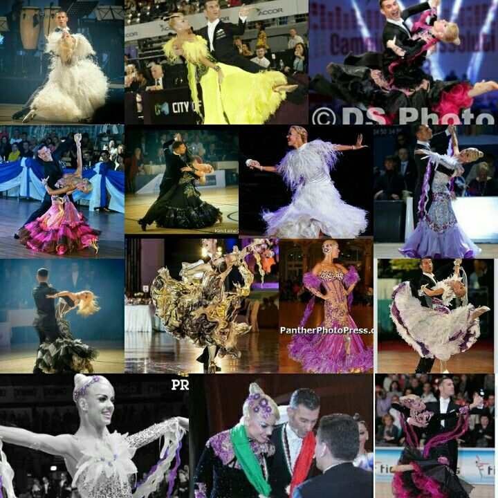 My collage of Joanne Clifton Competing