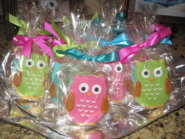 Owls for baby shower