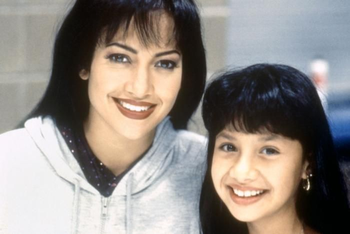 Selena (1997) Jennifer Lopez with Rebecca Lee Meza