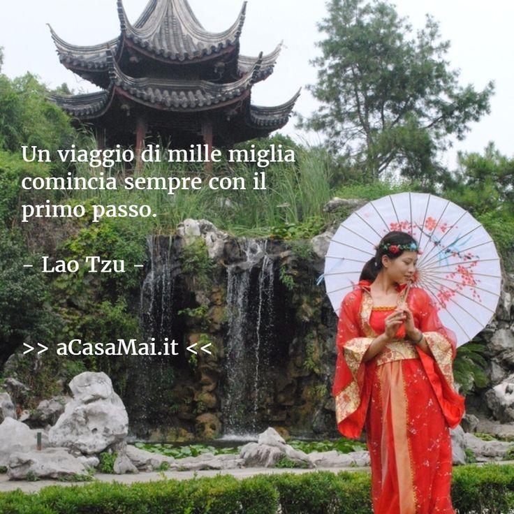 Un #viaggio di mille miglia comincia sempre con il primo passo. (Lao Tzu) #citazione #citazionedelgiorno #viaggi #travel #acasamai