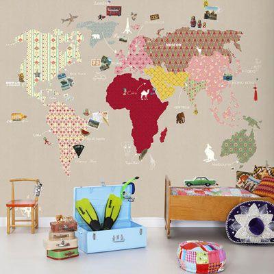 BarnNet: Barntapeter och väggdekor till barnrummet