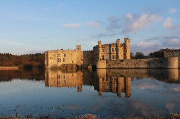 Leeds Castle (although in Kent!) is our favourite castle!
