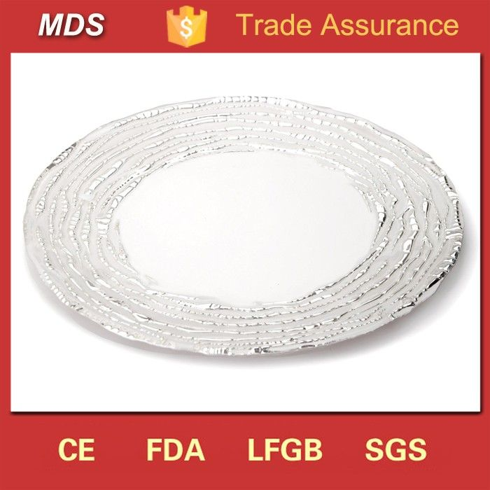 Check out this product on Alibaba.com App:Weddings silver glass cheap white dinner plates for dinner restaurant https://m.alibaba.com/IBFNzy