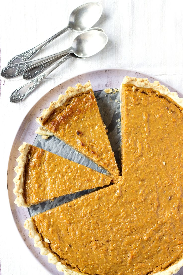 It wouldn't be fall without pumpkin pie!