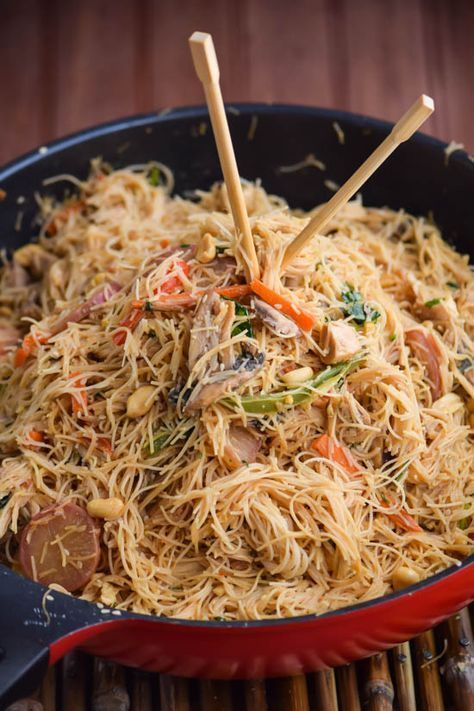 Thai Peanut Sesame Vermicelli Noodles (8) #ThaiFoodRecipes