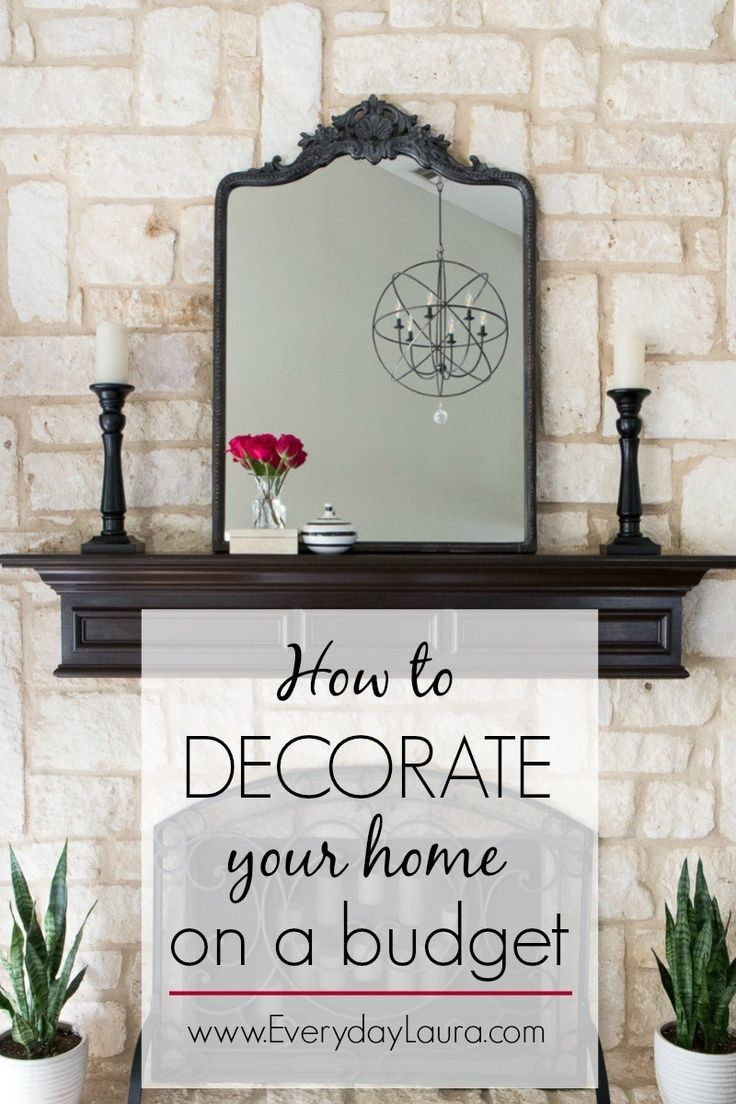 How To Decorate Your Home On A Budget Budget Decor Tips Thrifty
