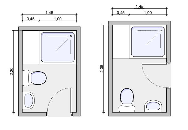 Three quarter bath floorplan three quarter bath drawing for Bathroom layouts for small bathrooms
