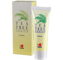 Tea Tree Cream is a soothing skin cream specially formulated with tea tree oil. High skin penetration and gentle rapid skin absorbency, comes with a scent of refreshing tea tree. Suitable for skin hygiene and protection. It is also safe for the use of the whole family.