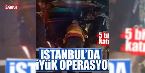 """İstanbul'da 'Yeditepe huzur' uygulaması!: İstanbul'da, """"Yeditepe Huzur"""" adlı asayiş uygulaması kapsamında, hava destekli 5 bin polisin katılımıyla 39 ilçede sabit yol uygulaması, eğlence mekanları ve umuma açık yerler ile denizde denetim yapılıyor..."""
