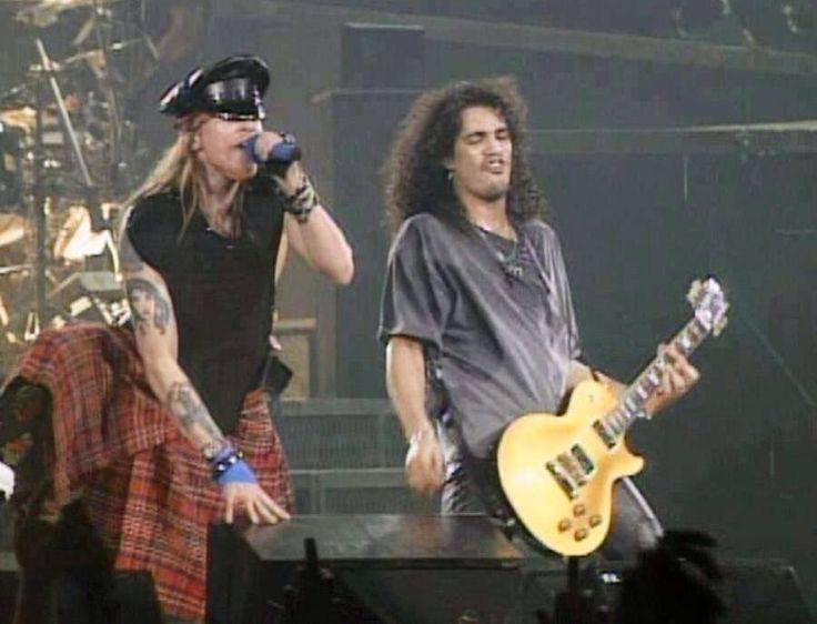 Axl Rose and Slash of Guns N' Roses, early '90s #axlrose #waxlrose #gnr #gunsnroses #rockstar #rockicon #bestsingerever #hottestmanalive #livinglegend