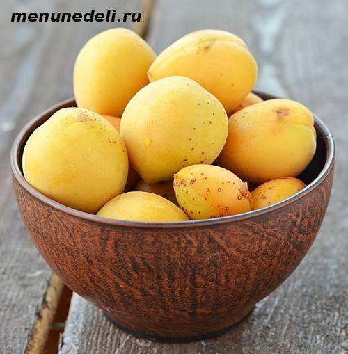Замарозка абрикос. (И много других продуктов...).