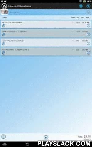 Sinlib Feria  Android App - playslack.com , **ATENCIÓN: esta APP necesita un código de acceso, solicítelo a Arminet C.B. si es cliente del Software para librerías Sinlib**Consulte sus libros, proveedores y clientes de Sinlib. ¡Ventas y devoluciones para ferias integradas!Ventas de libros, control de caja, envío de tickets por e-mail, ¡venda incluso libros que no están en su base de datos!Permite trabajar con lectores de códigos de barras externos (necesario adaptador usb-micro y soporte USB…