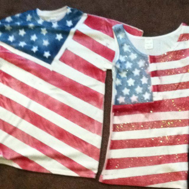 diy july 4th shirts