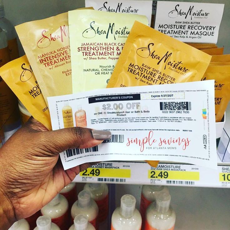 $0.49 each Shea Moisture Hair products at Target http://simplesavingsforatlmoms.net/2017/08/0-49-each-shea-moisture-hair-products-at-target.html #Shea Moisture