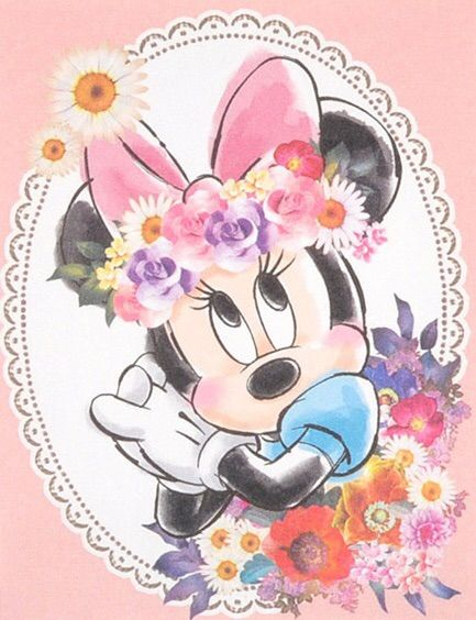 Image Via We Heart It Disney Girls Minnie Wallpaper Cute