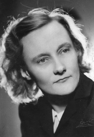 Early photo of Astrid Lindgren