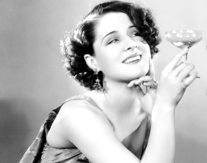 """Norma Shearer by George Hurrell, publicity portrait for """"The Divorcee"""", 1930."""