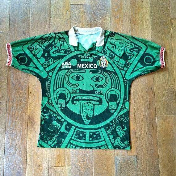 1998 Calendario.Mexico Wear World Cup Jerseys Mexico Soccer Football