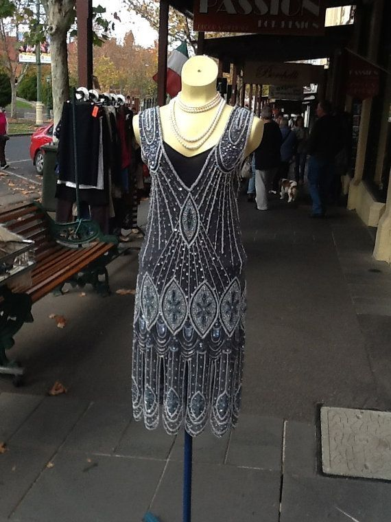 1920s Flapper Dress by brookeO