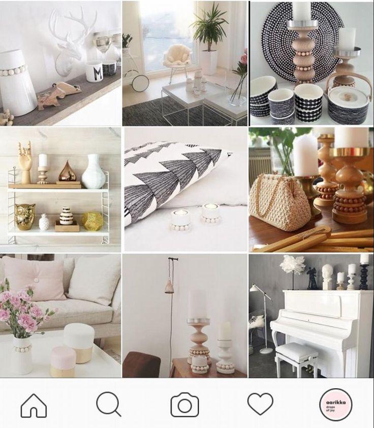 Instagram holds plenty of photos from beautiful Nordic homes with Aarikka products that bring pure joy! This is how Aarikka looks like in reality! Please log on to @aarikkaoy in instragram to see photos from users (saikkupe, karkkilina, neposennurkat, pienilintunenblog, krolalfen, jahanpe, hamlajo, valkoinen_paletti, ullanlinna, hentohetki, she_hoards, elinainen15, mariatuulikki, kaikkimitaolen, marjukkall, prylodesign, kirsikkaha, epuf, ainutlaatuinen, pau.liin.a...)