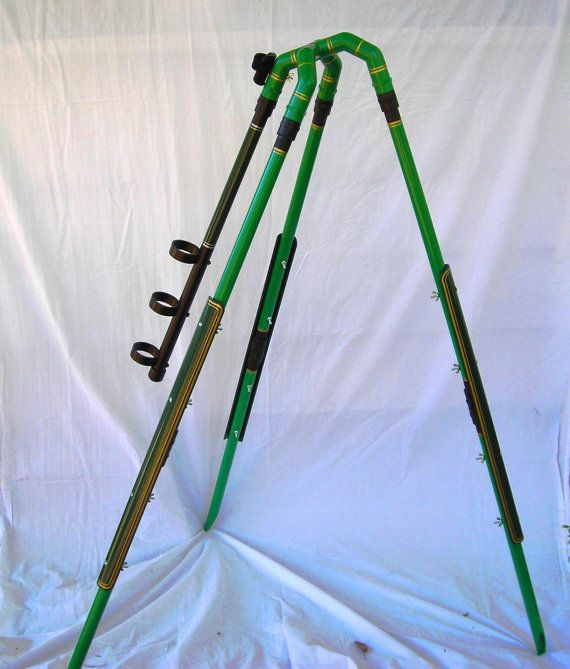how to make a tripod with pvc pipe
